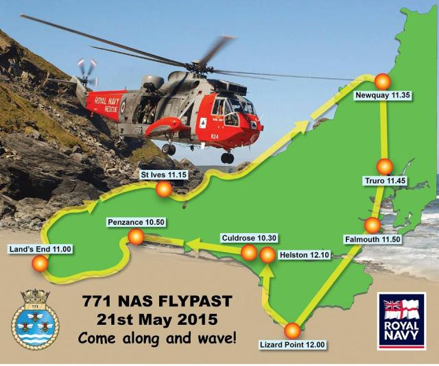 771 NAS FLYPAST 21st May 2015 Come along and wave!